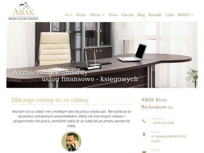 Abak - biuro rachunkowe w Lublinie