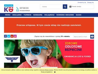Sklep internetowy dla aktywnych dzieci Active Kid