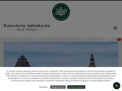 JACEK MOTYKA Adwokat rodzinny szczecin