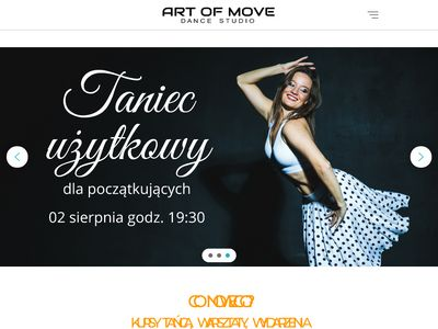 Szkoła Tańca Poznań ArtOfMove.pl