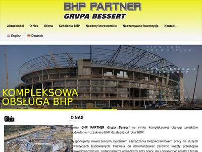 Szkolenia Bhp, usługi   Bhppartner Wrocław