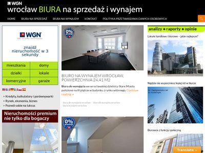 Biura Wrocław - Tanie biura Wrocław - Wynajem biura Wrocław