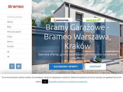 Solidne bramy garażowe Kraków