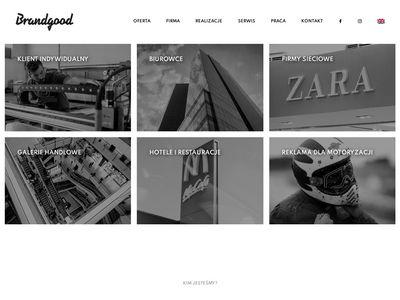 Litery blokowe - Brandgood.com