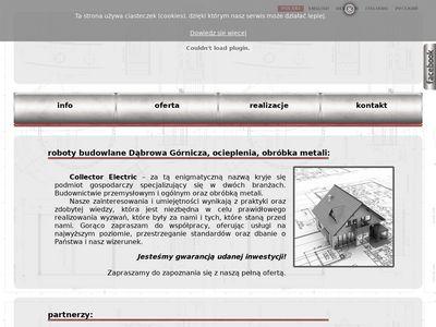 Collector Electric - roboty budowlane Dabrowa Gornicza, ocieplenia