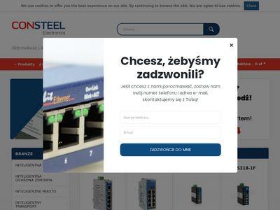 Automatyka w przemyśle - CONSTEEL Electronics