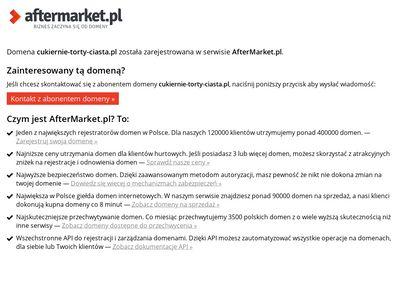 Cukiernie Warszawa - torty weselne