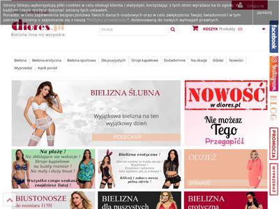 Koronkowa bielizna damska erotyczna - diores.pl