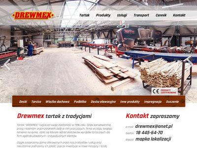 Drewmex - Skład drewna Kraków