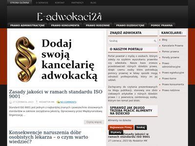 Dane kontaktowe do Kancelarii Adwokackich