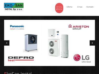 EkoSan Instal przydomowe oczyszczalnie ścieków