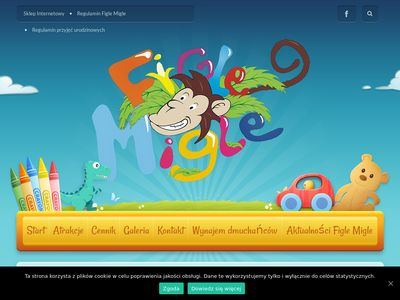 Centrum Zabaw Dziecięcych w Tarnowie - Figle Migle - Plac zabaw dla dzieci - 513-507-003
