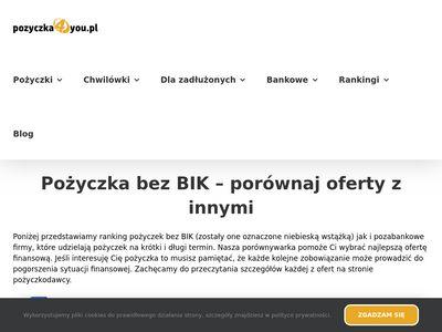 Pożyczki pozabankowe - Finrank.pl