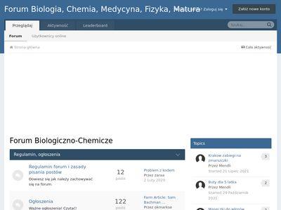 Forum chemiczne