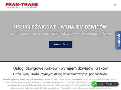 Usługi dźwigowe Fran-trans