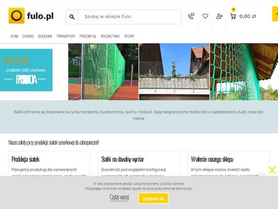 Fulo.pl - siatka polipropylenowa