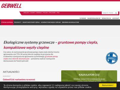 Gebwell - kompaktowy węzeł cieplny