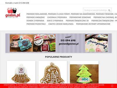 Pierniki świąteczne z logo