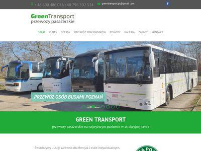 Przewóz osób Poznań - Transport osób Poznań