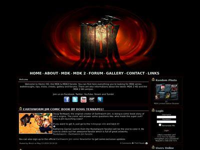Hectic HQ - MDK, MDK 2, MDK 2 Armageddon, MDK 2 HD, MDK 3