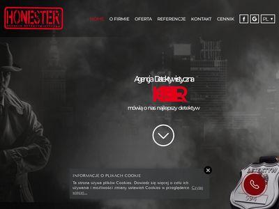 Agencja Detektywistyczna HONESTER Prywatny Detektyw Warszawa