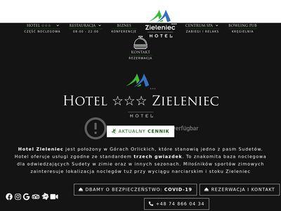 Hotel w górach z myślą o wakacjach