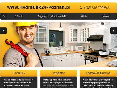 Hydraulik Poznań - Pogotowie hydrauliczne 24H