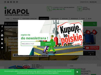 IKAPOL Kompleksowe wyposażenie firm i produkcji