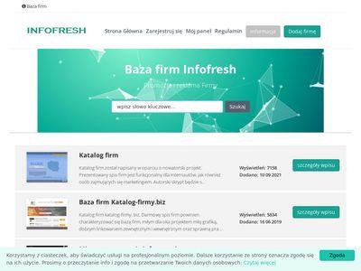 Infofresh.pl katalog firmy