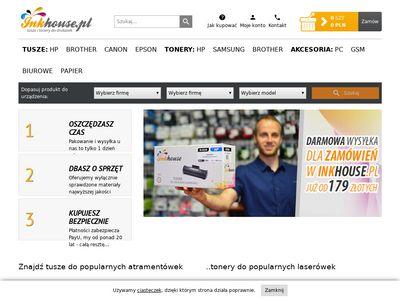 InkHouse.pl - tusze i tonery