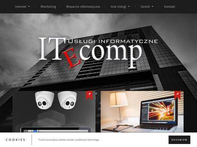 Projektowanie stron internetowych Kraków, wsparcie informatyczne