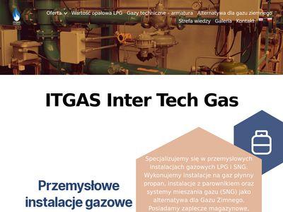 ITGAS Inter Tech Gas - przemysłowe instalacje gazowe lpg