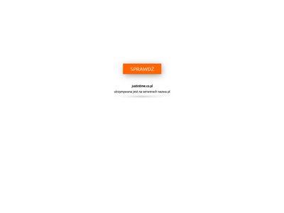 Justintime.co.pl - koordynacja dnia ślubu