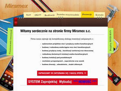 Miramex - kanalizacja