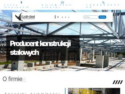 Hale stalowe Małopolska - kasil-steel.pl.