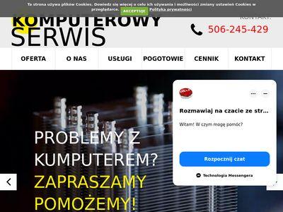Serwis laptopów Mysłowice - komputerowyserwis.eu