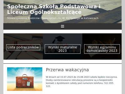 Społeczne Liceum Ogólnokształcące i Gimnazjum w Katowicach