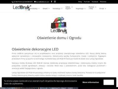 LedBruk - świecąca kostka brukowa