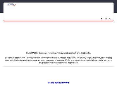 Biuro Rachunkowe MAGFIN - kompleksowo Warszawa