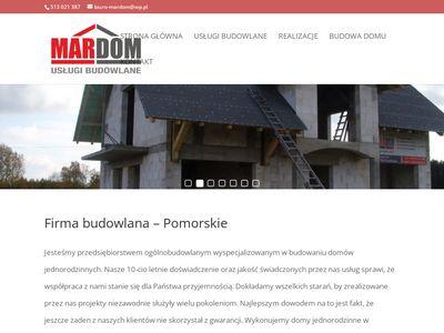MarDom - Firma budowlana