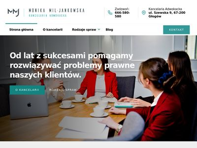 Adwokat Głogów - MJP Adwokaci