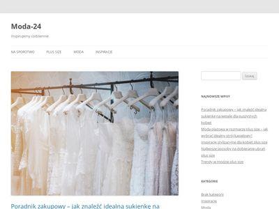 Modna odzież damska sklep internetowy, sklep odzieżowy Moda-24