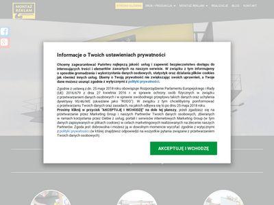 montazreklamwarszawa.pl