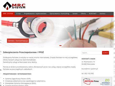 MRC System - Zapobieganie zadymieniu
