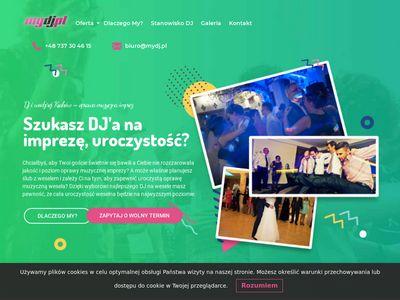 My DJ - oprawa muzyczna imprez