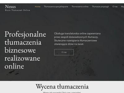 Biuro tłumaczeń Cieszyn | Nexus