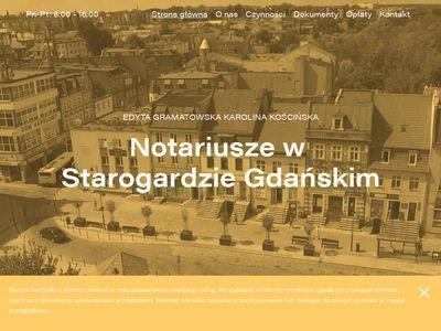 Notariusz Starogard Gdański