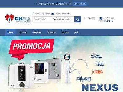 ohwoda.pl - jonizator wody