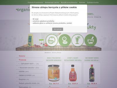 Sklep - żywność ekologiczna