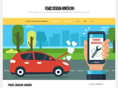 pomoc drogowa Kraków